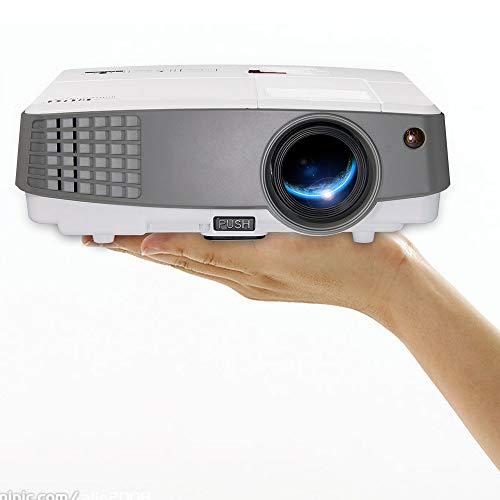 EUG Portable Movie Projector Home Cinema Indoor/Outdoor Use 3300 Lumen LCD LED Multimedia Mini...