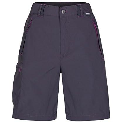 Regatta Women's Chaska Lightweight Water Repellent Uv Protection Active Hiking Shorts 6
