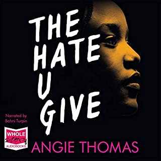 The Hate U Give                   By:                                                                                                                                 Angie Thomas                               Narrated by:                                                                                                                                 Bahni Turpin                      Length: 11 hrs and 39 mins     71 ratings     Overall 4.7
