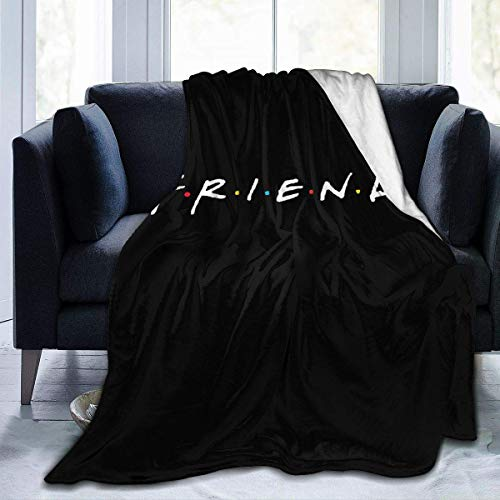 Engshi Mantas para Cama Friend Horrior Luxury Comfort Warm Fluffy Plush Hypoallergenic Blanket for Bed Sofa Chair Autumn Winter Living Room