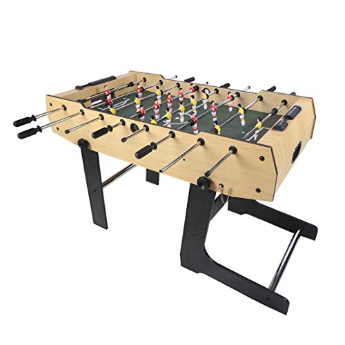 4ft Foldable Foosball Table Football Soccer Indoor Game Table Kids Family Play Sports Fun