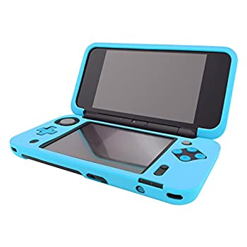Silicone Case for New Nintendo 2DS XL Protective Cover Skins for New Nintendo 2DS LL - Blue