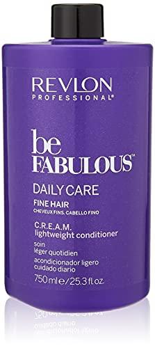 REVLON PROFESSIONAL Be Fabulous Daily Care Fine Hair C.R.E.A.M. Conditioner, 1er Pack (1 x 750 ml)