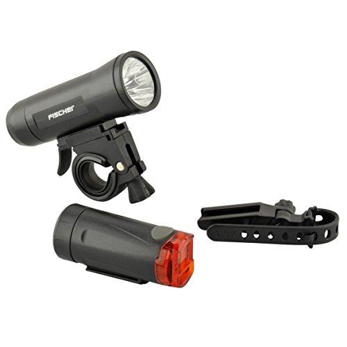 FISCHER LED-Leuchtenset, 15 Lux, Schwarz