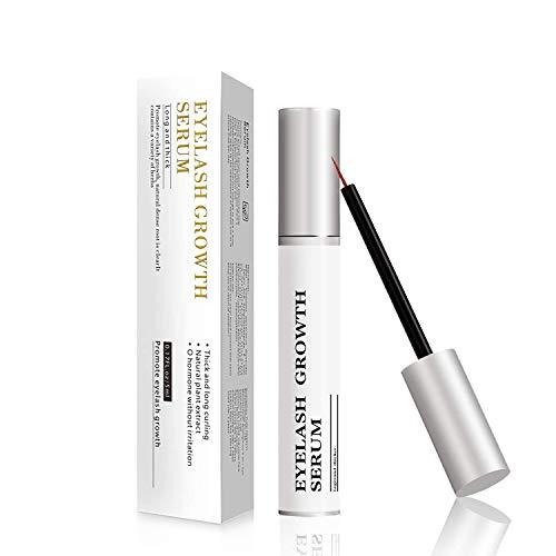 Eyelash Growth Serum Lash Serum Eyebrow Serum for Women with Biotin & Natural Peptides for Long Lash, 5ML