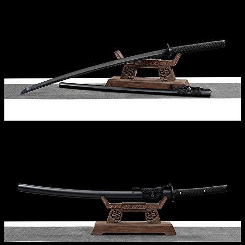 GLW Kanata Handmade Folded Steel Japanese Samurai Sword Katana Full Tang Sharp Blade