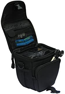 GEM N100178SCH300H400400400V Estuche para cámara fotográfica Carcasa compacta Negro - Funda (Carcasa compacta Sony Cyber-Shot DSC-H300 DSC-H400 DSC-HX400 DSC-HX400V Tirante para Hombro Negro)