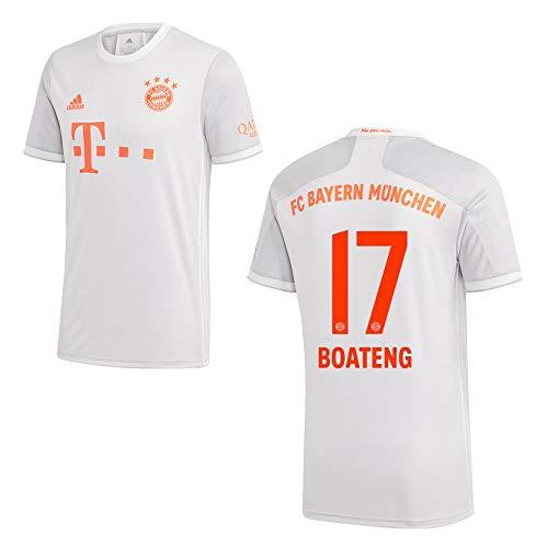 adidas Bayern Trikot Away Herren 2021 - Boateng 17, Größe:XL