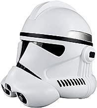 Clone Trooper Helmet Stormtrooper Helmet Black series Costume Mask White for Adult
