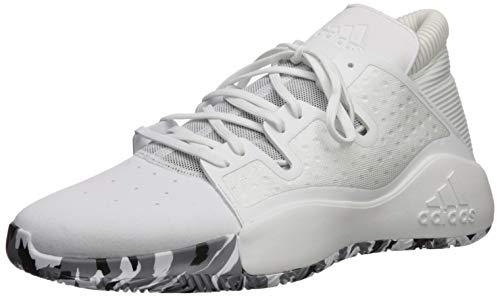 adidas Pro Vision, Zapatillas de bsquetbol Hombre, Blanco Oro Metálico, 44 2/3 EU
