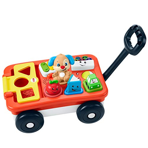 Fisher-Price Laugh & Learn Pull & Play Learning Wagon - Bilingual