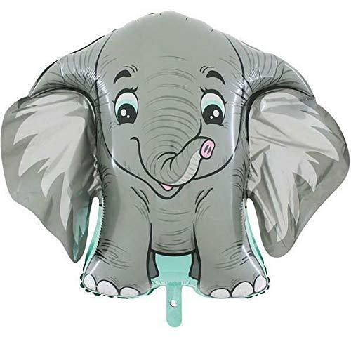 Ballonim® Elefant ca. 80 cm Luftballons Folienballon Party Dekoration Geburtstag