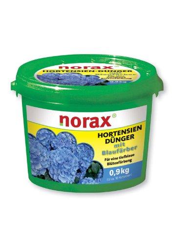 norax Hortensien-Dünger mit Tiefen-Blaufärber 0,9 kg *Gärtnerqualität*