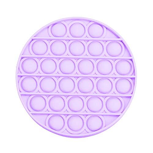 MINGCHIU Fidget Toy Antistress Spielzeug Anti Stress Sensorik Popit Figetttoys, Simple Dimple Fidget Toy Figuren Ball Figet Squishy Bubble Push Pop für Erwachsene und Kinder (F- 02, One size)