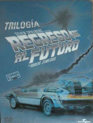 Regreso Al Futuro 1+2+3 Caja Met(Dvd)