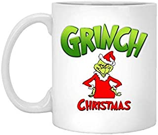 Christmas Grinch Mug, Grinch Christmas, Double Hate Loathe Entirely, Dr Seuss Quotes, How The Grinch Stole Christmas, Christmas Coffee Mug, Gifts, 11oz, 15oz