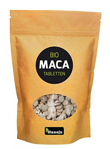 Hanoju BIO MACA Premium 4:1 Pulver 500 mg 500 Tabletten
