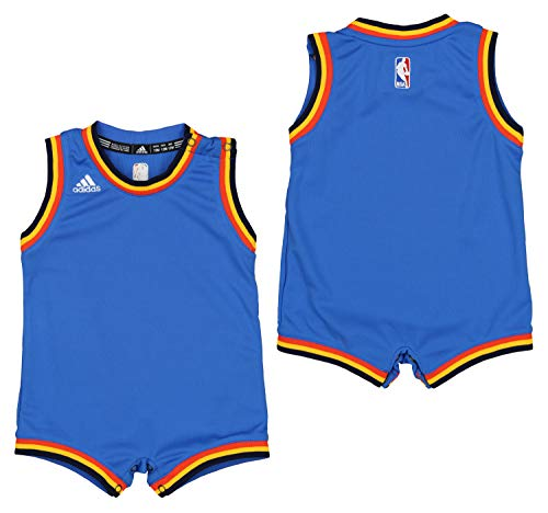 Outerstuff NBA Oklahoma City Thunder Infants Replica Road Onesie - 12M