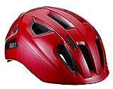BBB Cycling Sonar BHE-171-Casco de Bicicleta niñas (Talla M, 52-58 cm), Color Rojo Brillante, M (52-58cm)