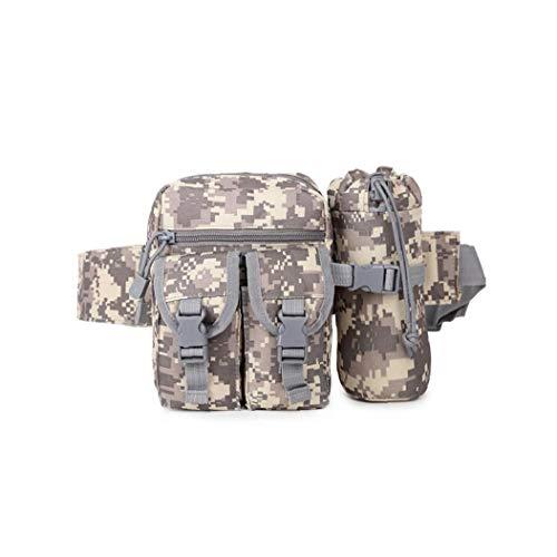 Tragbarer Tactical Kettle Hüfttasche Praktische Flaschenhalter Hüfttasche Multifunktions-militär Kettle Taillen-Beutel Für Außen ACU Tarnung