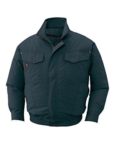 サンエス 空調服 空調風神服 長袖ワークブルゾン 服のみ チャコール KU91400 69(チャコール) L