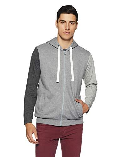 Amazon Brand – Symbol Men Hooded Sweatshirt