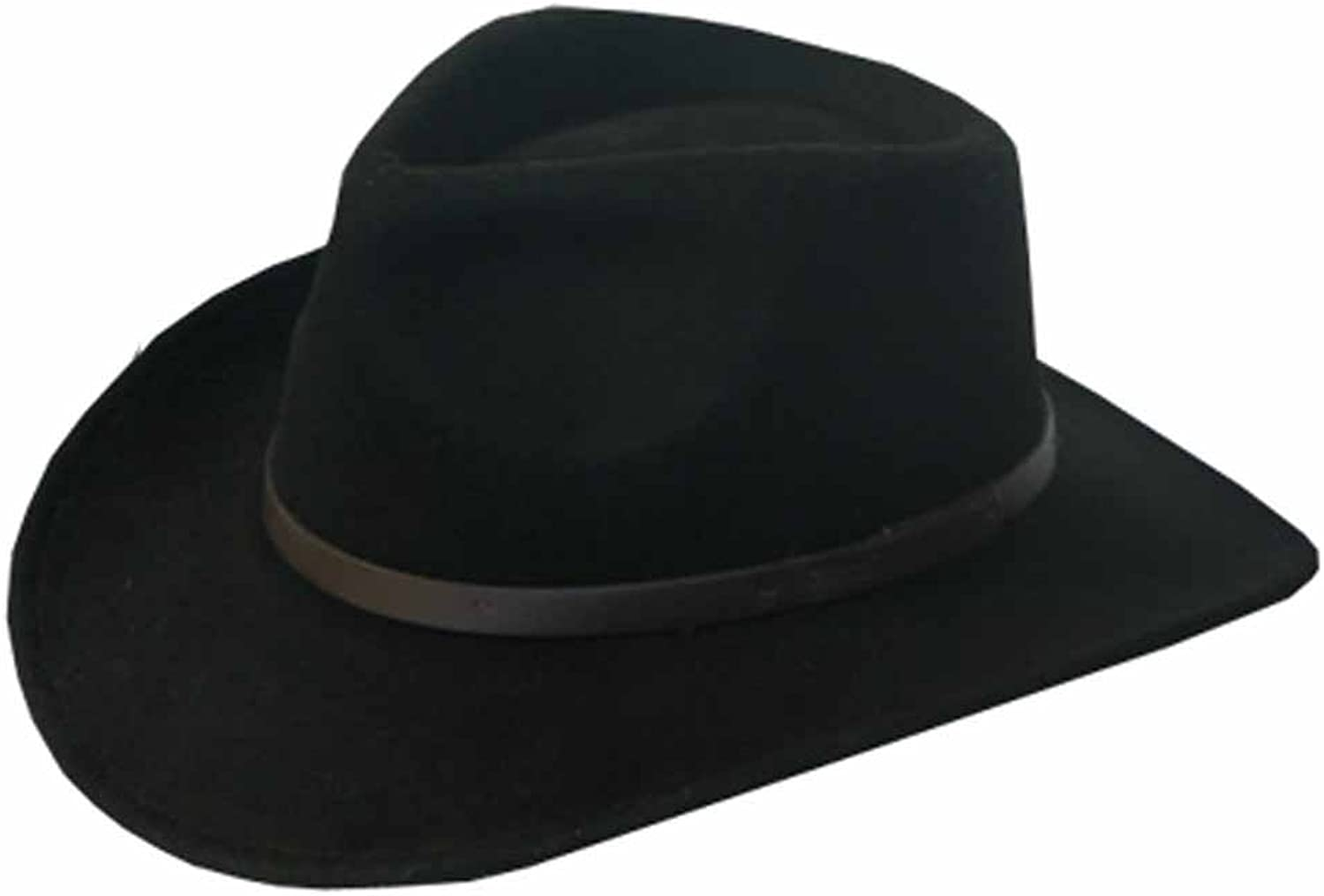 BENTLEY OUTBACK Crushable Outback Wool Felt Hat Fedora Fashion Men and Women