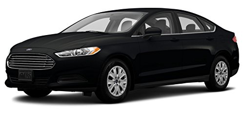 2014 Ford Fusion S Hybrid, 4-Door Sedan Front Wheel Drive, Tuxedo Black Metallic