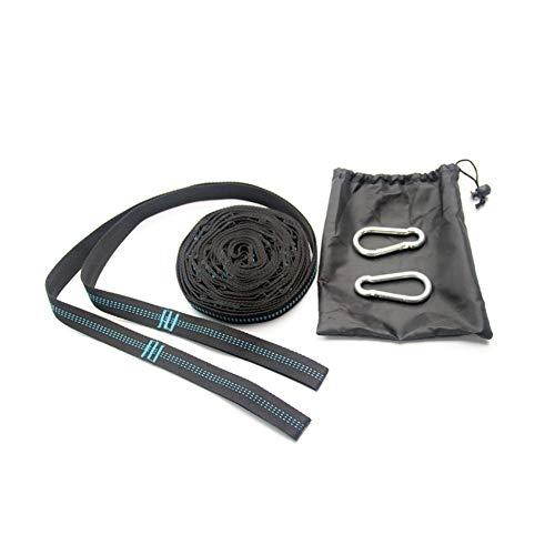 N / C Cinturón de Hamaca liviano y portátil, fácil de Instalar, poliéster de Alta Resistencia, Puede soportar 300 kg, Adecuado para Caminatas y campamentos