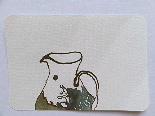Unikat Postkarte Krug A6