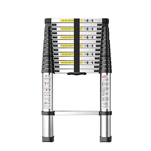 Escalera Recta Retractable Plegable Gruesa Aleación de Aluminio 320cm ingeniería ático Liuyu.