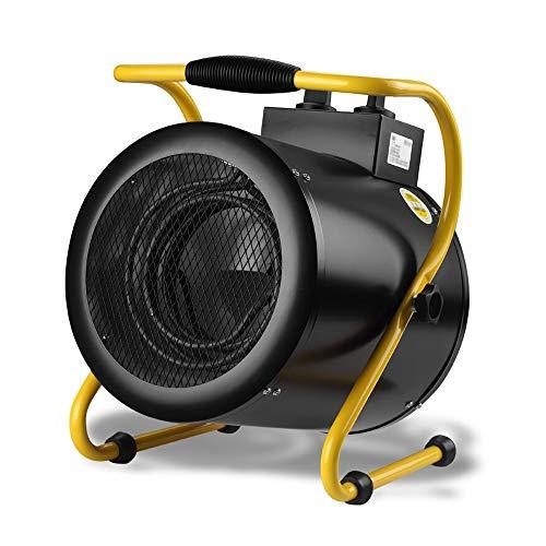 JinDun JD Calentadores industriales, Calentadores de Alta Potencia Calentadores industriales de la Planta/Garaje/agrícola, 3 Opciones de Voltaje (Size : 52/4500/9000W)