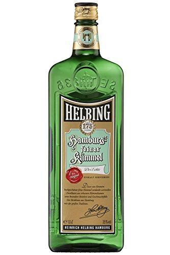 Helbing Kümmel - Hamburgs feiner Kümmel Schnaps seit 1836 - Trinkt man eiskalt, pur oder mit Tonic. (1 x 1,0 l)