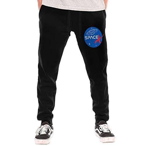 Jingliwang Space-X Na-Sa Mashup Logo Pantalones Largos para Hombre Imp