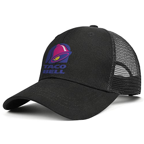 Unisex Baseball Cap Fashion Sparkle Taco-Bell-Logo- Adjustable Truck Cap Visor Hats
