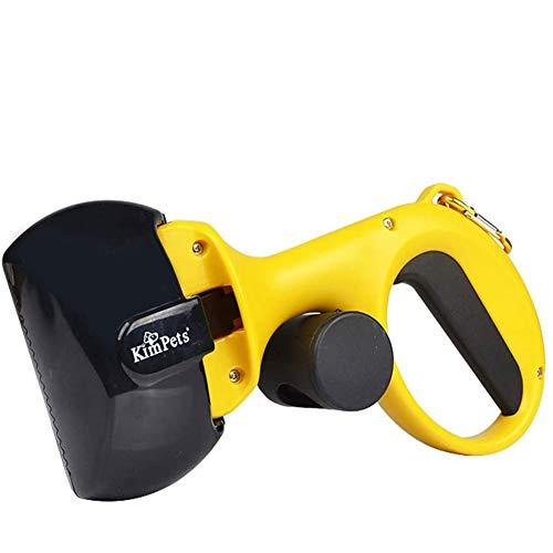 CCYY Hundekatze Pooper Scooper mit Taschenhalter, Vermeiden Sie übermäßiges Biegen - Aufnehmen ohne Schmutz - Aber für schwere, Walking Poo Remover Grabber Picker, Kotschaufeln