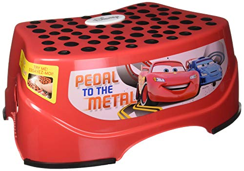 Disney Cars Step & Glow Step Stool, Red