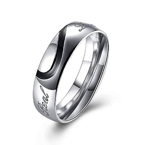 Maat 10 - ring - plaat - geschreven - echt - ware liefde - man - vrouw - unisex real love