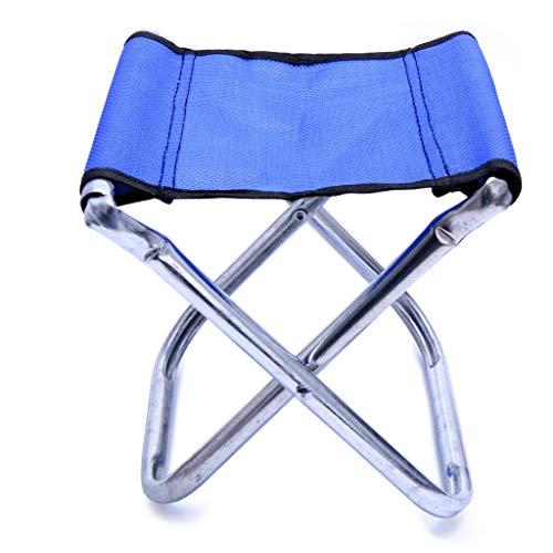 Silla plegable portátil taburete asiento de pesca al aire libre camping viaje picnic senderismo