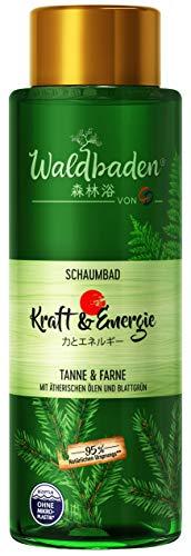 CD Waldbaden Schaumbad Kraft & Energie, veganer Badeschaum, 500 ml