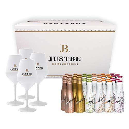 JUST BE Geschenke-Set Wein-Cocktail Party-Box (L)