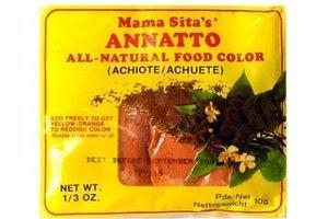 mama sita annato powder (all natural food coloring) - 0.33oz [6 units] (025407803801)