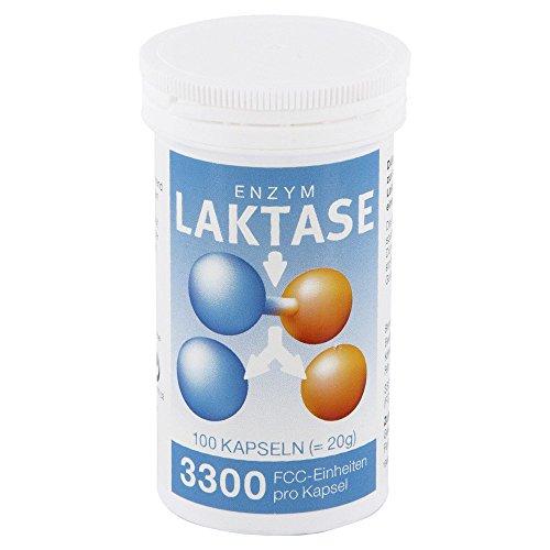 Enzym Lactase 3300 FCC Pro Natura, 100 St. Kapseln