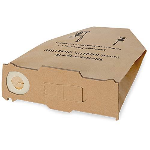 30 Staubsaugerbeutel Filtertüten für Vorwerk Kobold 130 131 kompatibel, mit EB 350 oder 351, Bestleistung beim Saugen