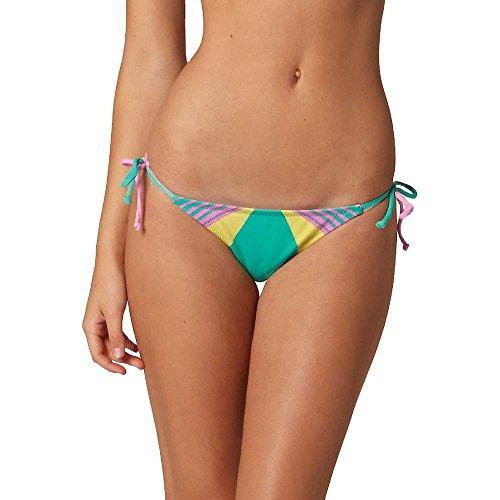Fox Racing Savant Side Tie Womens Bikini Bottoms Large Teal