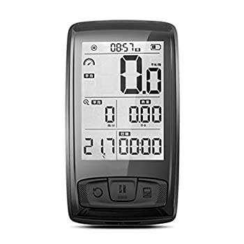 Pathpark Cycling Computer Bluetooth Wireless Bike Computer with Cadence/Speed Sensor USB Port and 2.5in HD Screen