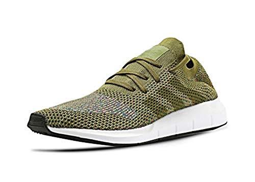 adidas Swift Run Primeknit Sneaker Herren Grün, 40 2/3