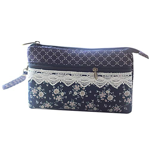 Kentop Handytasche, kleine Aktentasche mit Handgelenkschlaufe 19*12*2cm dunkelblau