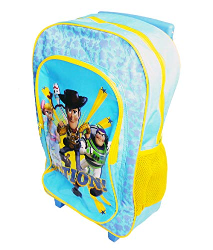 Toy Story Action Children's Character Luggage Deluxe Wheeled Trolley Backpack Suitcase Cabin Bag School