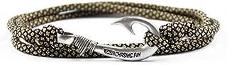 thin gold line paracord bracelet